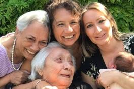 5 generaties op 1 foto: van betovergrootmoeder Bea (96) tot baby Eline