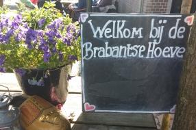 Uitje met de vrijwilligers naar Brabantse Hoeve in Volkel