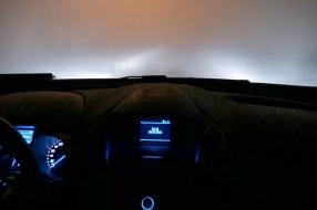 Extreem dikke mist tijdens jaarwisseling: 'Het is beangstigend'