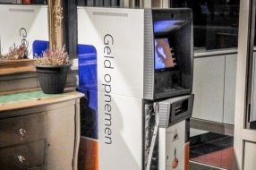 Mislukte kraak van geldautomaat Venhorst van begin tot eind gefilmd door beveiligingscamera [VIDEO]