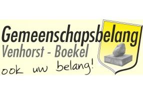 Gemeenschapsbelang Venhorst wordt Gemeenschapsbelang Venhorst-Boekel