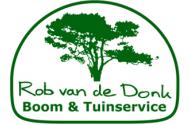 Rob van de Donk Boom & Tuinservice Logo